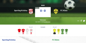 Läs mer om artikeln Sporting Kristina – FC Kiisto