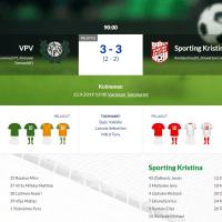 VPV - Sporting Kristina 3-3 (2-2)