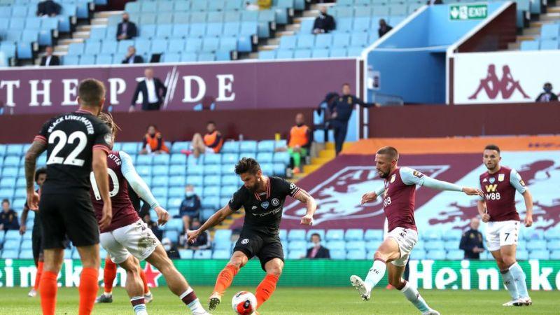 Aston Villa 1-2 Chelsea: Christian Pulisic and Olivier Giroud seal ...