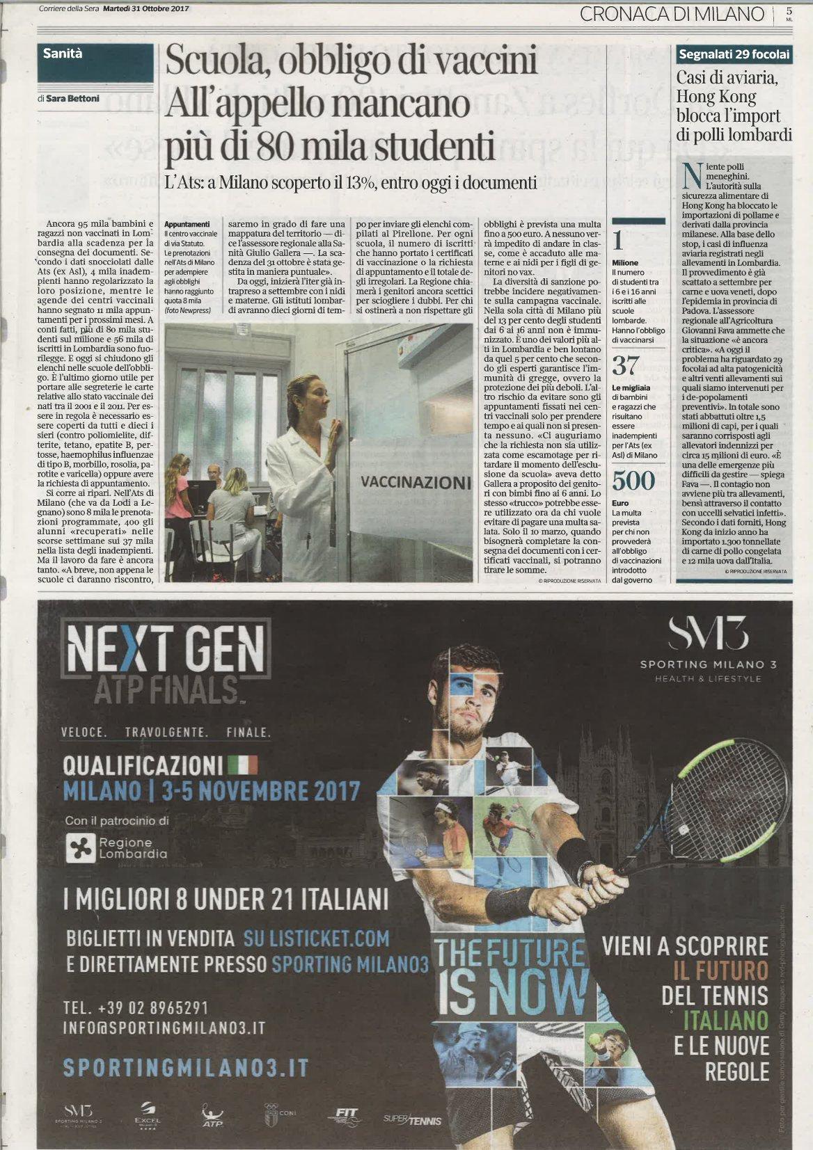Next Gen Atp corriere-sera-31-ottobre-2017