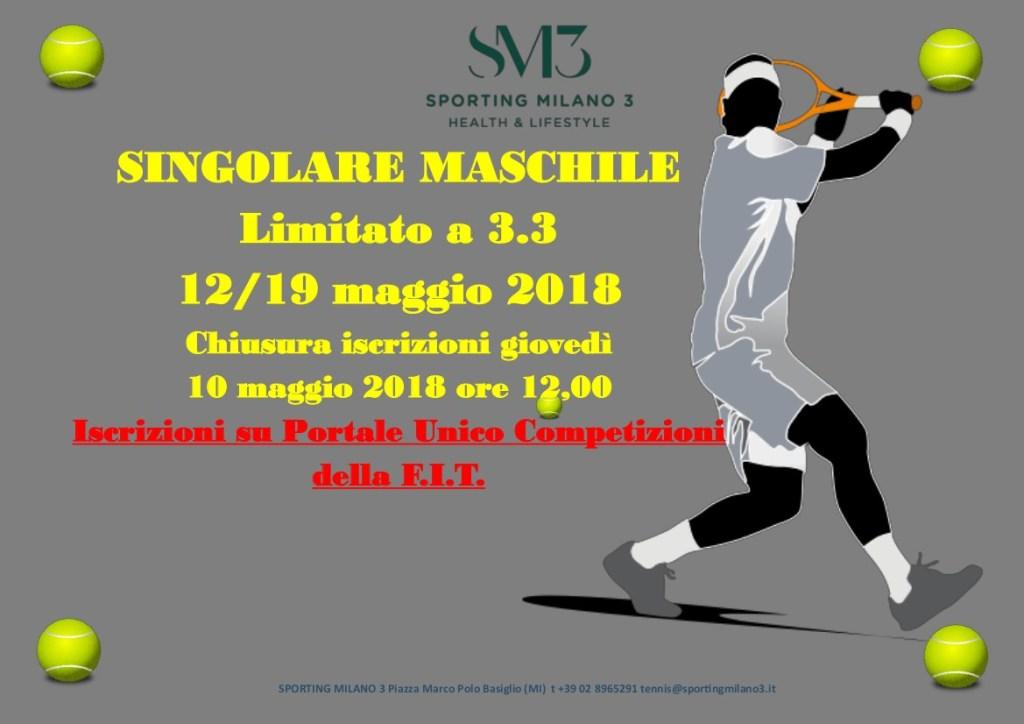 Torneo 3.3 12 19 maggio 2018