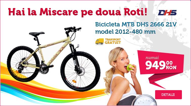 Biciclete mountain bike pentru imbinarea utilului cu placutul