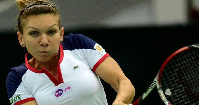 Simona Halep se teme de Serena