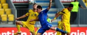 FOTBAL - MECI DE VERIFICARE - ROMANIA U21 - ITALIA U21