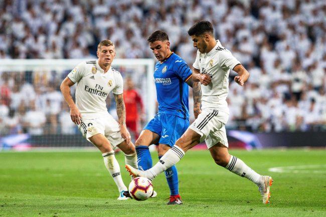 sport news Getafe 0-3 Real Madrid: David Soria own goal ...  |Real Madrid-getafe