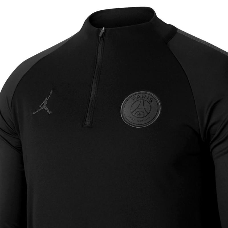 Jordan x PSG chandal tecnico negro de entreno UCL 201819