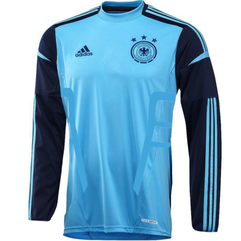 Camiseta de arquero de Alemania local 201214 jugador