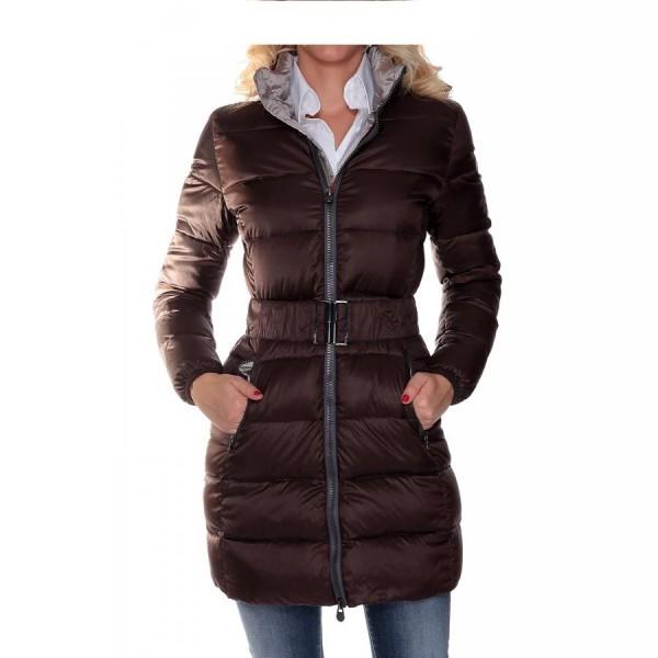 Piumino lungo donna modello SWEET colore Marrone  Colmar  SportITcom