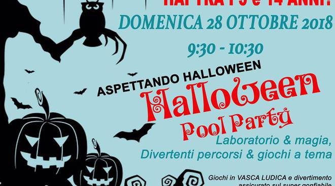 Halloween in piscina a Parabiago  SportLegnanoit