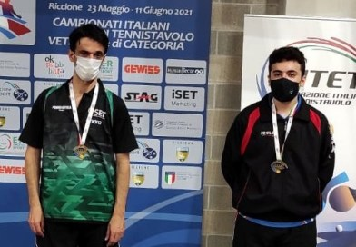 Tennistavolo – Il messinese Arcigli sul podio nel Campionato Italiano di categoria