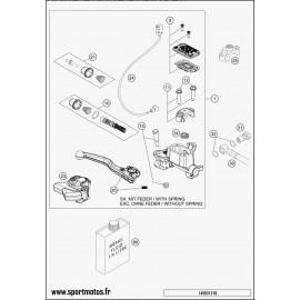 SCREW FOR PLASTIC K50X18 T20 (Husaberg TE 300 2014