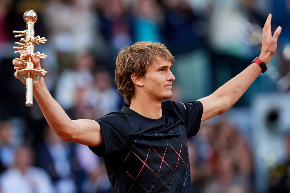 Zverev sampion Madrida 13.5.2018.