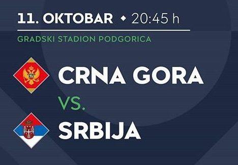 Crna Gora – Srbija logo