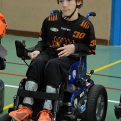 Wheelchair Volleyball Chair Cover Rentals Liverpool Die E-hockey-spieler Sorgen Für Furore: Sport News Südtirol