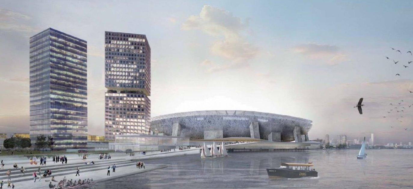 ontwikkeling nieuw stadion