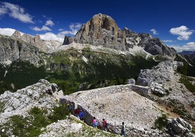 Dolomiti: le escursioni nei luoghi della Prima Guerra Mondiale