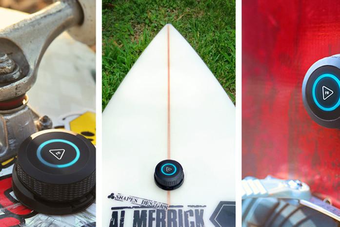 Trace, il device per monitorare i trick di skate, sci e snow
