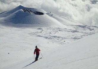Sci estremo (Sud): piste e fuoripista sull'Etna