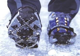 Yaktrax, per correre su neve e ghiaccio