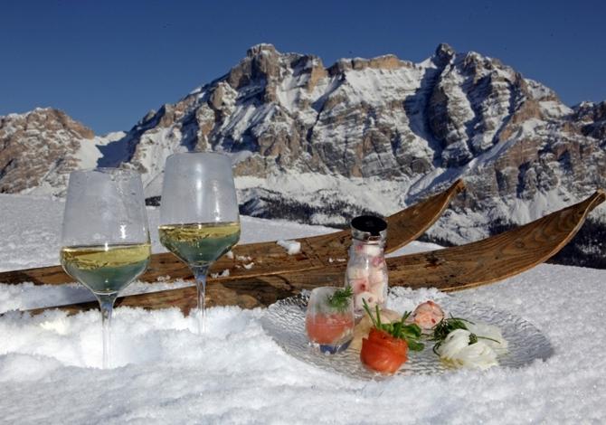 Roda dles Saûs Giro dei Sapori Dé dl Vin Wine Safari Alta Badia