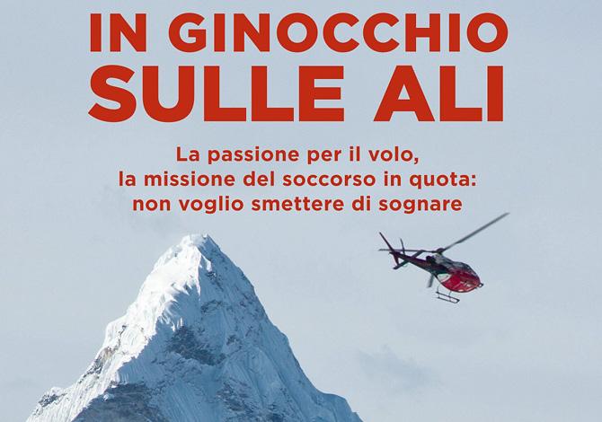 'In ginocchio sulle ali', il nuovo libro di Simone Moro
