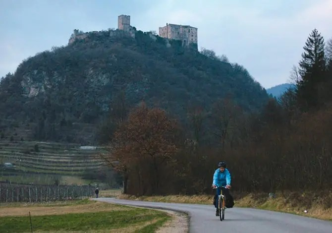 In bicicletta dalla Val dei Mocheni all'Altipiano di Pinè