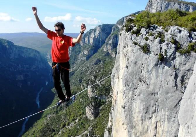 Lukas Irmler: così si cammina sulla corda