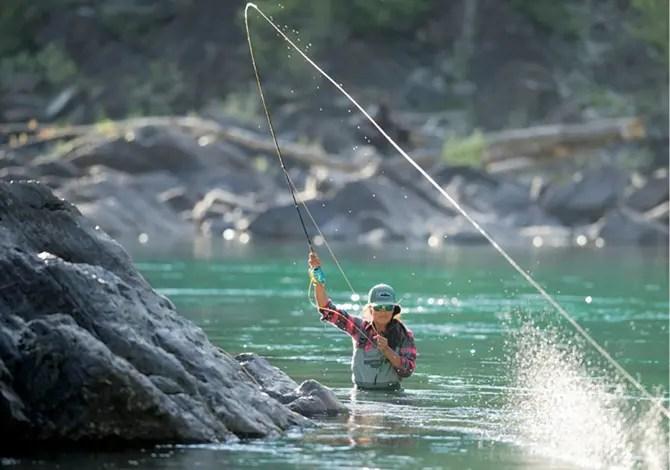 Quanto è bella la pesca a mosca