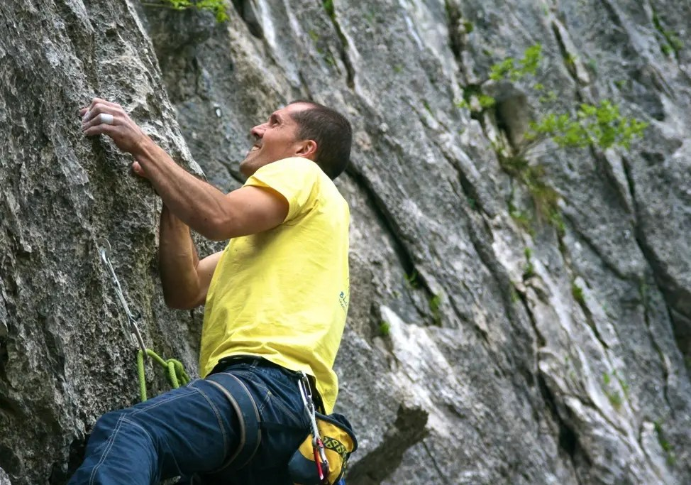 Arrampicare in estate alla falesia Roby Piantoni [blog]