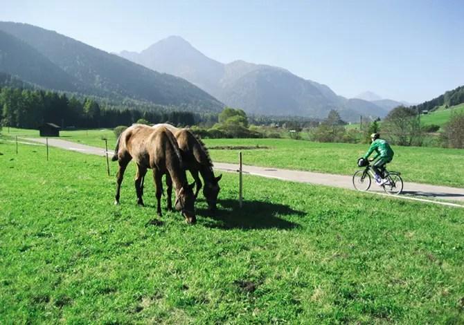 In bici in Val Pusteria lungo la San Candido-Lienz