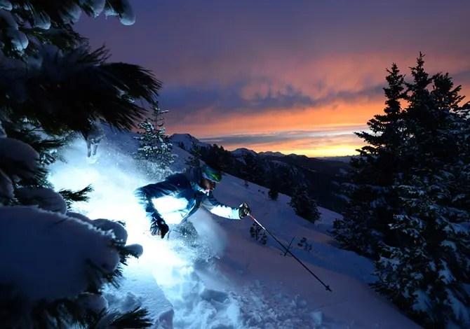 Le migliori piste per sciare di notte