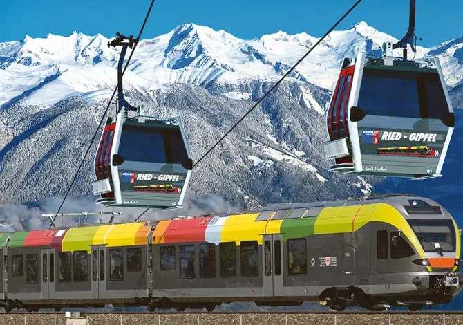 Dal treno alla pista: 4 località per sciare a km 0