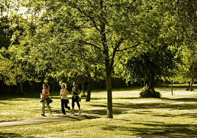Correre Parco Aria Sana