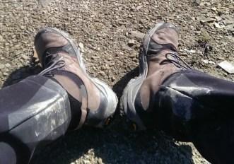 Pulire gli scarponi da trekking