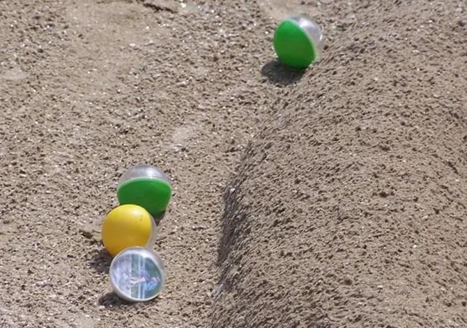 biglie regole gare spiaggia