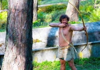tiro con l'arco preistorico