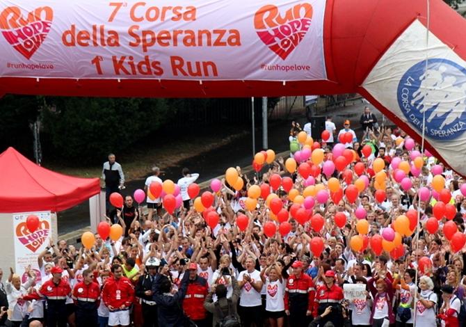 La Corsa della Speranza a Milano domenica 18 ottobre 2015