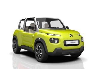 Torna la Citroën Mehari, è tutta elettrica e si chiama E-Mehari