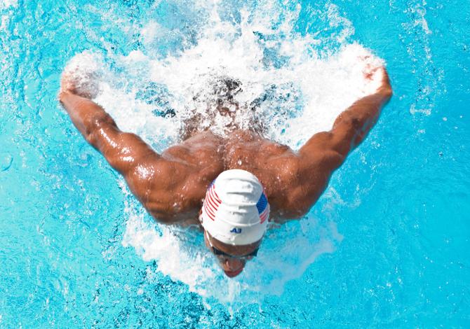 Muscoli più sviluppati nel nuoto