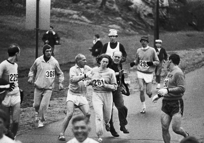 Kathrine Switzer Maratona Boston 1967