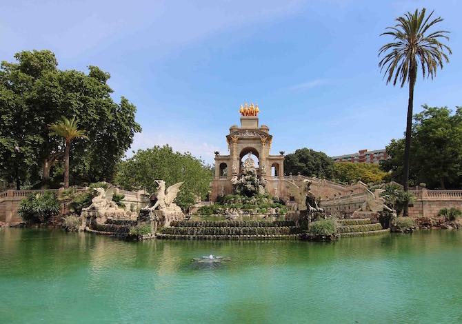 Barcellona, Barcellona, il Parc de la Ciutadela