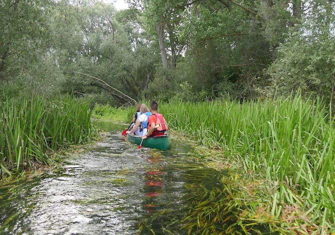canoa-bambni-tirino-fiume-pulito-italia-escursione-foto-demori