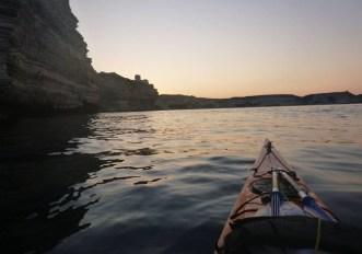 Corsica in kayak