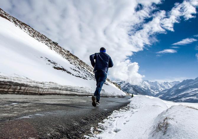 Correre con il raffreddore