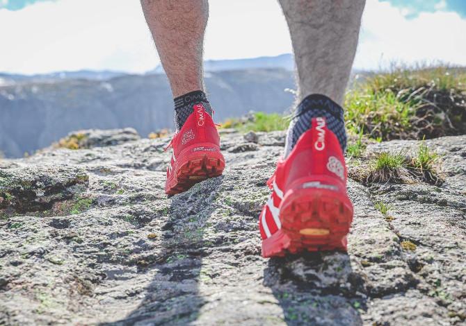 Cimalp 864 Drop Evolution, la prima scarpa da Trail Running con drop progressivo