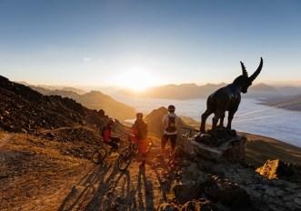 Il Corviglia a St. Moritz: la montagna degli sport