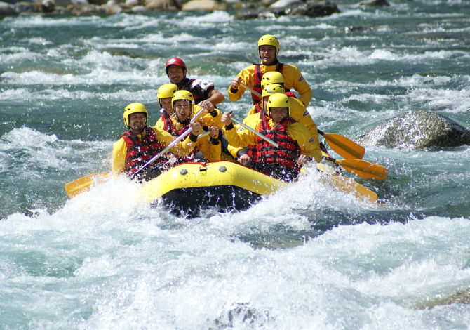 Sport lungo il fiume Sesia