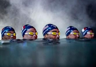 Phelps Ninja occhialono nuoto competitivo