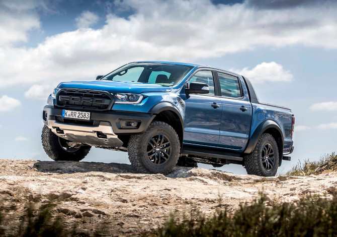 Pick-Up 4x4 per la montagna Ford Ranger Raptor