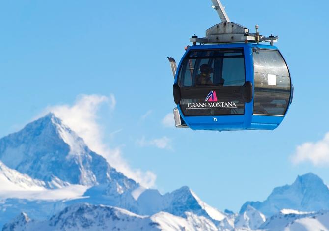 Sciare in Svizzera a Natale